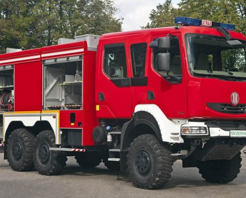6x6 آتش نشانی و حمل خدمه تیپ یک